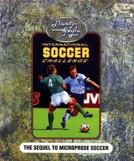 International Soccer Challenge Box Art