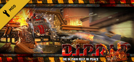 D.I.P.R.I.P. Warm Up Banner