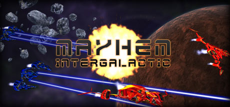 Mayhem Intergalactic Banner