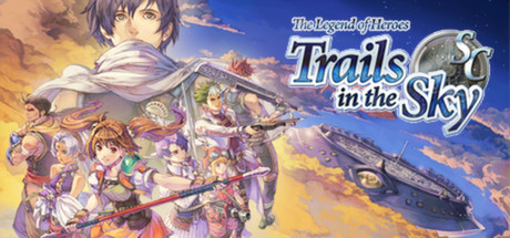 The Legend of Heroes: Trails in the Sky SC Banner