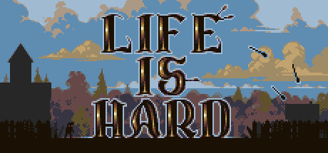 Life is Hard Banner