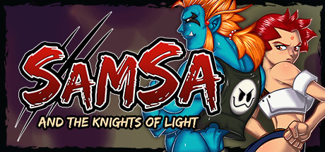 Samsa and the Knights of Light Banner