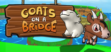 Goats on a Bridge Banner