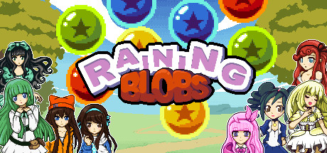 Raining Blobs Banner