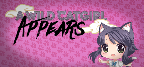 A Wild Catgirl Appears! Banner