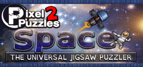 Pixel Puzzles 2: Space Banner