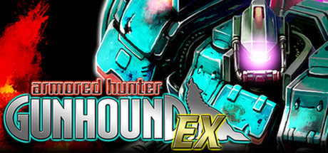 Armored Hunter GUNHOUND EX Banner