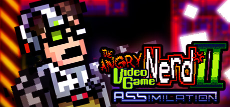 Angry Video Game Nerd II: ASSimilation Banner