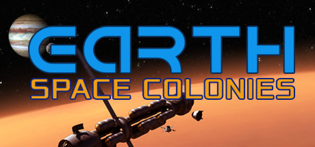 Earth Space Colonies Banner
