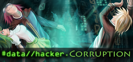 Data Hacker: Corruption Banner