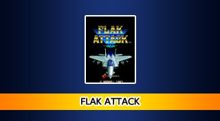 Arcade Archives FLAK ATTACK Trophy List Banner