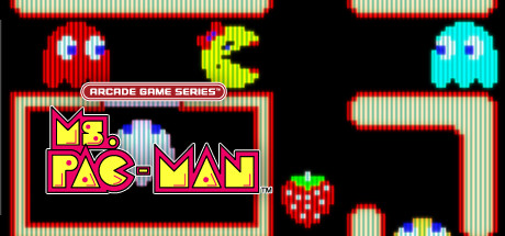 ARCADE GAME SERIES: Ms. PAC-MAN Banner