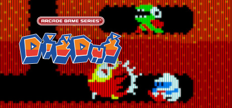 ARCADE GAME SERIES: DIG DUG Banner
