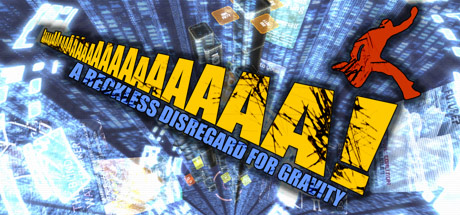 AaAaAA!!! - A Reckless Disregard for Gravity Banner