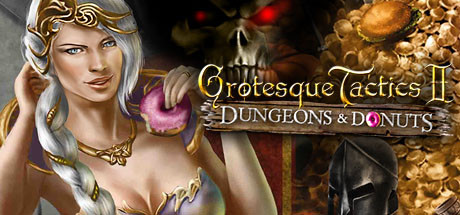 Grotesque Tactics 2 - Dungeons and Donuts Banner