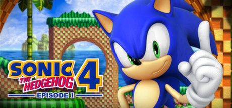 SONIC THE HEDGEHOG 4 Episode I Banner