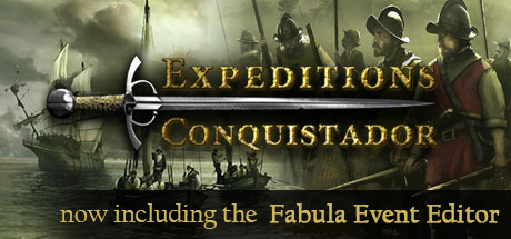 Expeditions: Conquistador Banner