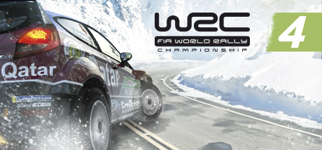 WRC 4 FIA WORLD RALLY CHAMPIONSHIP Banner