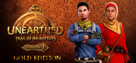 Unearthed: Trail of Ibn Battuta - Episode 1 - Gold Edition Banner