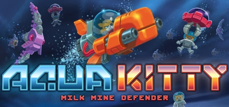 Aqua Kitty - Milk Mine Defender Banner