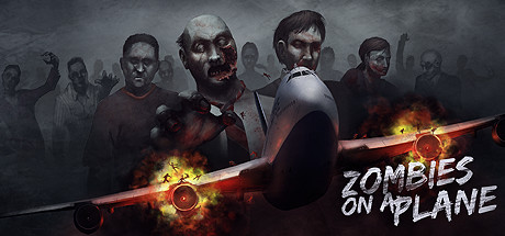 Zombies on a Plane Banner