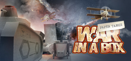 War in a Box: Paper Tanks Banner