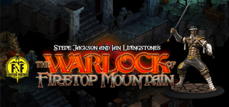 The Warlock of Firetop Mountain Banner