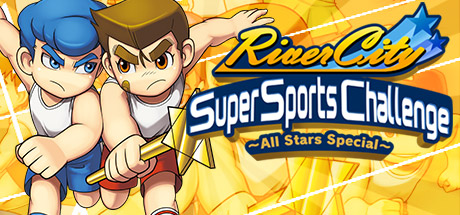 River City Super Sports Challenge ~All Stars Special~ Banner