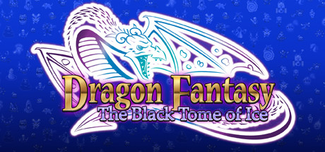 Dragon Fantasy: The Black Tome of Ice Banner