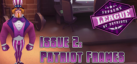 Supreme League of Patriots Issue 2: Patriot Frames Banner