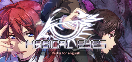 Magical Eyes - Red is for Anguish Banner
