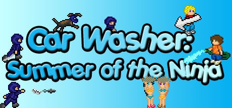 Car Washer: Summer of the Ninja Banner