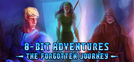 8-Bit Adventures: The Forgotten Journey Remastered Edition Banner