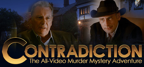 Contradiction - the all-video murder mystery adventure Banner