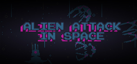 Alien Attack in Space Banner