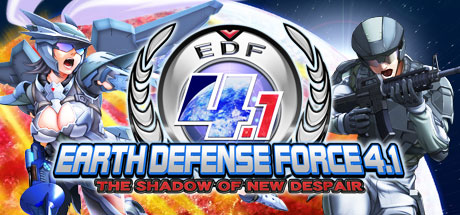 EARTH DEFENSE FORCE 4.1  The Shadow of New Despair Banner