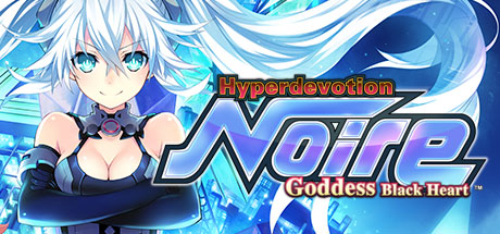 Hyperdevotion Noire: Goddess Black Heart Banner