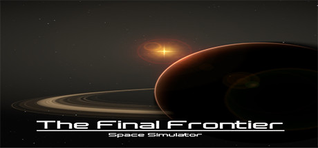 The Final Frontier: Space Simulator Banner