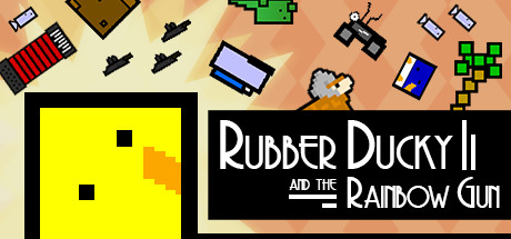 Rubber Ducky and the Rainbow Gun Banner