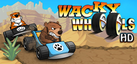 Wacky Wheels HD Banner