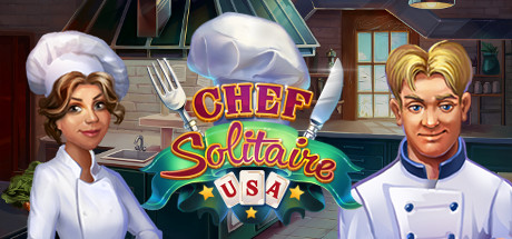 Chef Solitaire: USA Banner