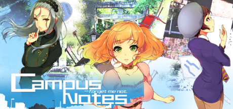 Campus Notes - forget me not. Banner