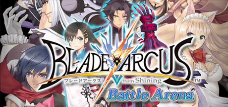BLADE ARCUS from Shining: Battle Arena Banner
