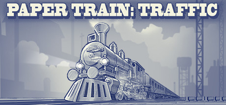 Paper Train Traffic Banner
