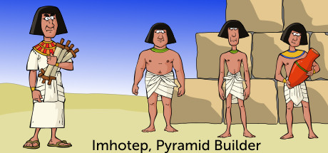 Imhotep, Pyramid Builder Banner
