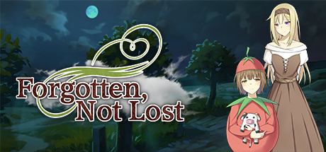 Forgotten, Not Lost - A Kinetic Novel Banner