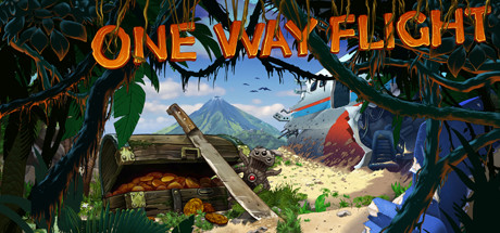 One Way Flight Banner
