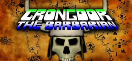Crongdor the Barbarian Banner
