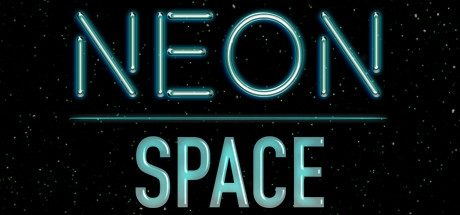 Neon Space Banner