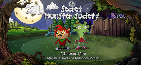 The Secret Monster Society: Chapter One Banner